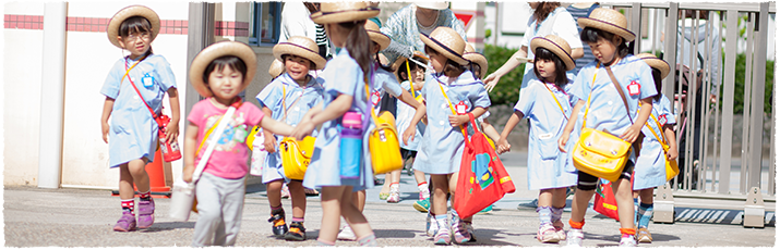 めぐみ幼稚園の1日